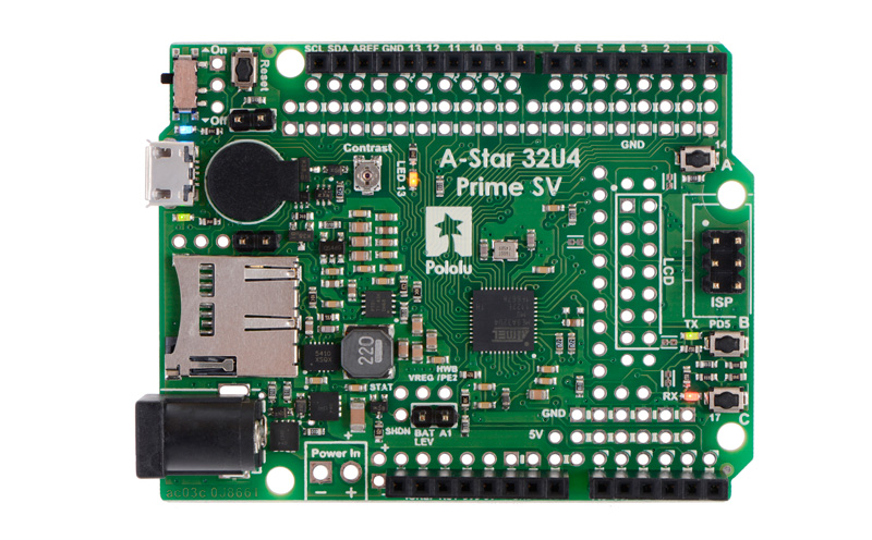 Microcontrolador A-Star 32U4 Prime SV