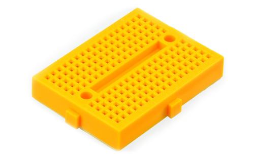 Mini Protoboard - amarela