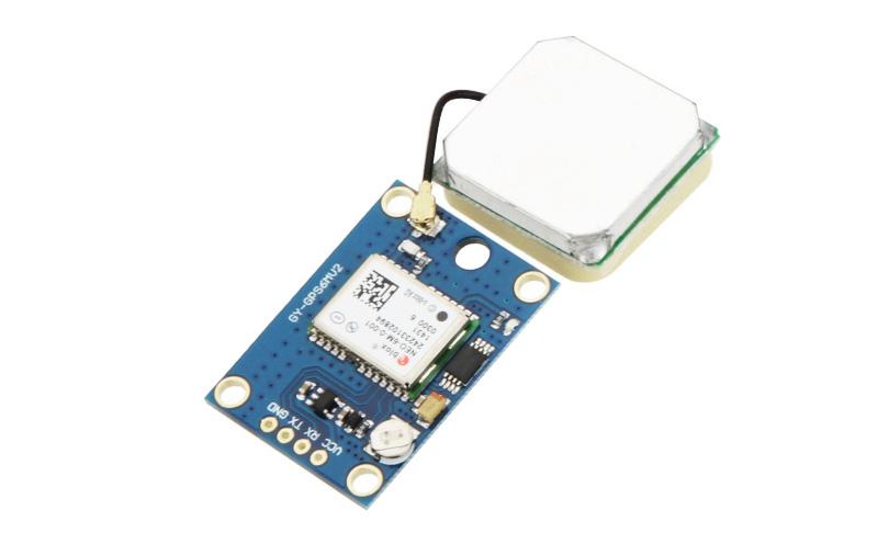 Módulo GPS GY-NEO6MV2 com conversor de sinal