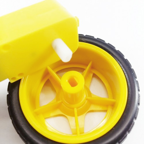 Motor CC com roda