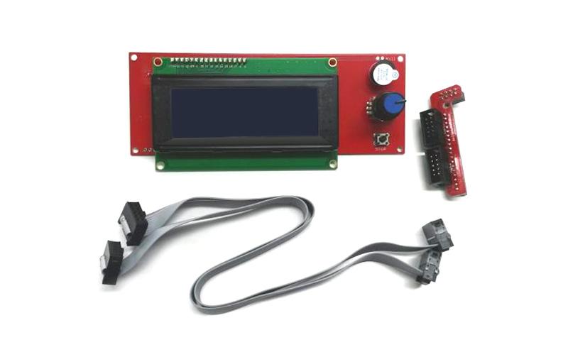 Placa LCD e leitor SD para RAMPS