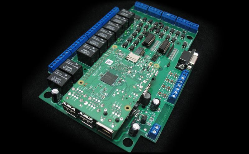 Placa de Automação para Raspberry Pi - Raspberry Pi 3 não incluído