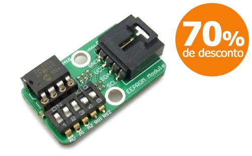 Módulo de expansão EEPROM para Arduino