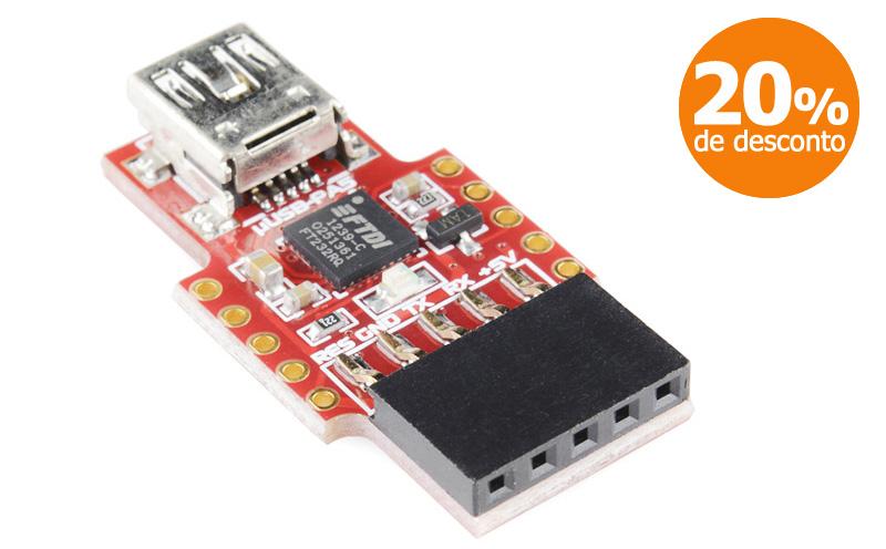Ponte USB para Serial - μUSB-PA5