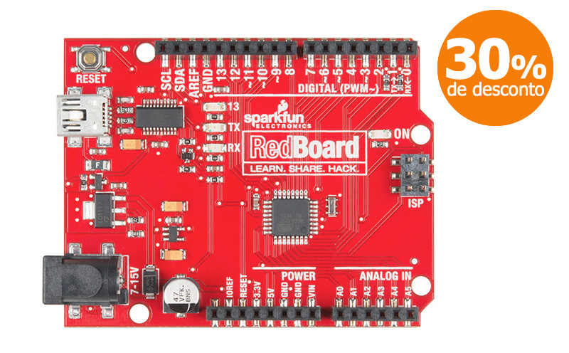 RedBoard SparkFun (Arduino Compatível)