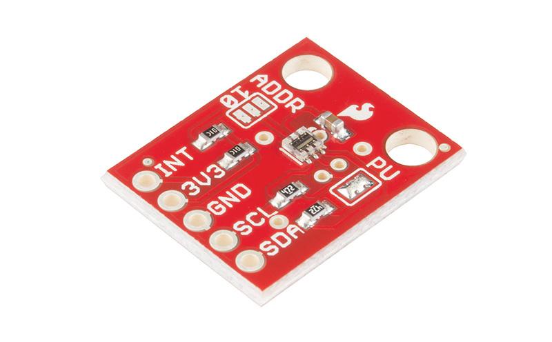 Sensor de Luminosidade RGB e infravermelho