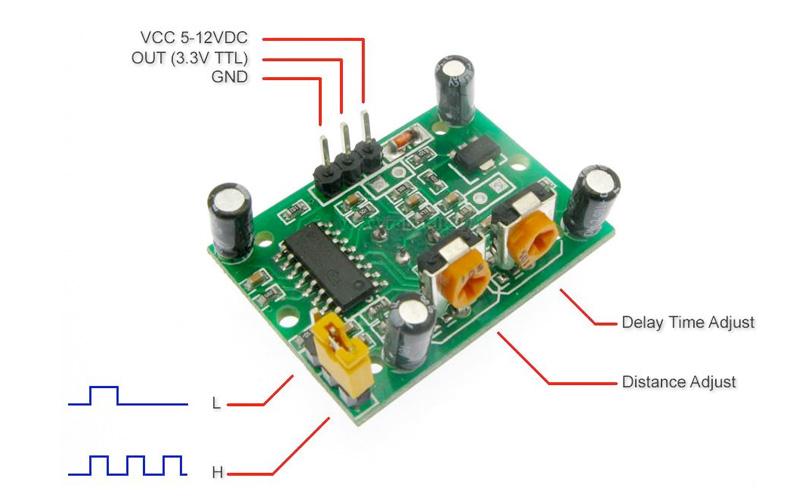 Sensor de Movimento HC-SR501