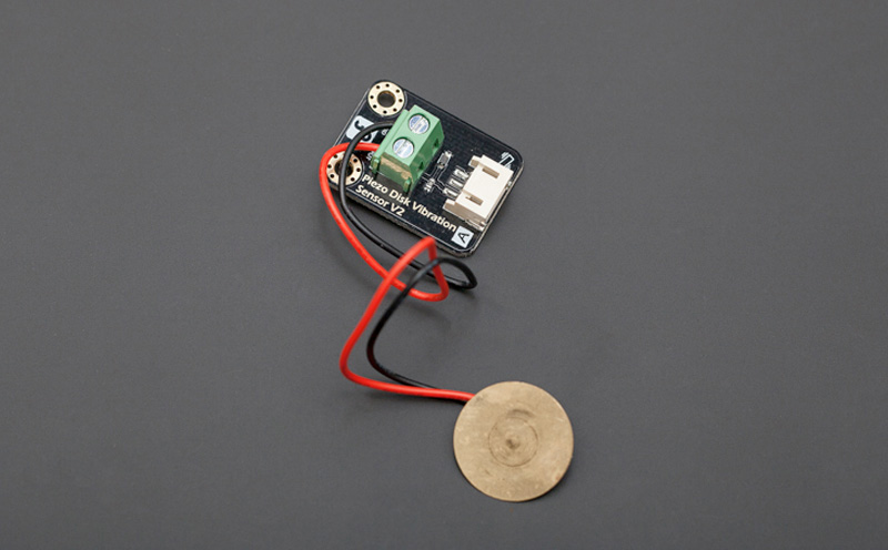 Sensor de vibração Piezoelétrico