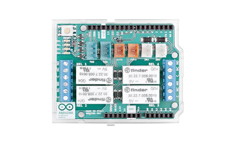 Shield Arduino 4 relês