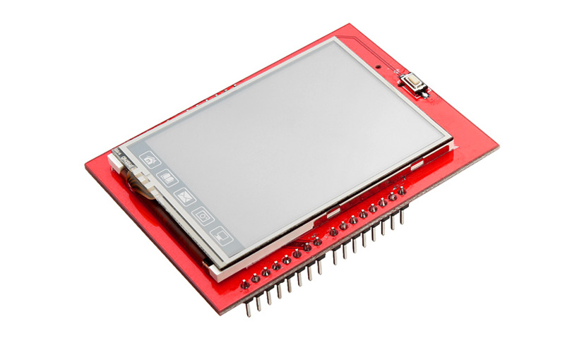 Shield Display LCD TFT 2,4 Touchscreen