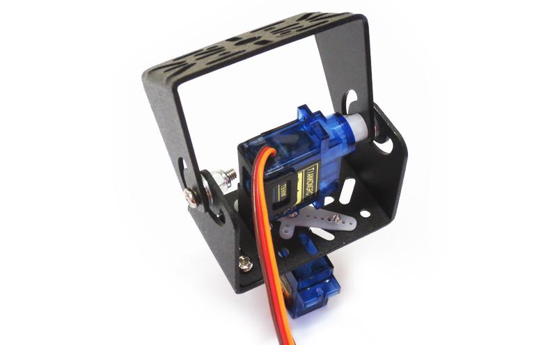Suporte Pan/Tilt metálico com Servos Motores 9g