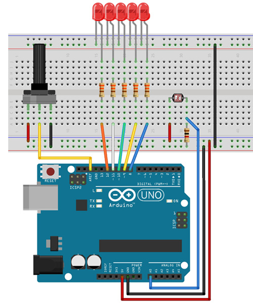 Tutorial Multilógica-Shop Arduino Sensor LDR