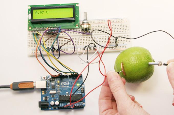 Construindo um voltímetro com Arduino