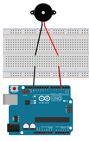 Tutorial Multilógica-Shop Arduino - Piezo como saída analógica
