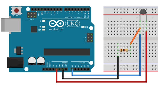 Tutorial Multilógica-Shop Arduino Termistor