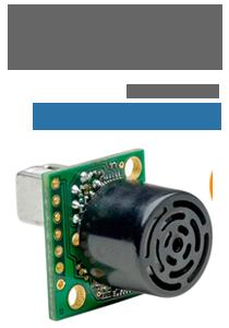 Sensor Ultrasônico de distância - Maxbotix XL-EZ0