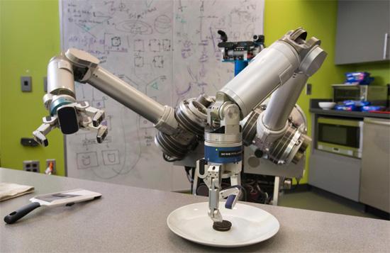 HERB - O robô mordomo, ator e separador de biscoitos Oreo.