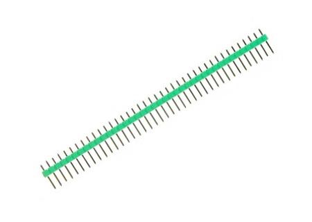 Barra de pinos – macho – verde