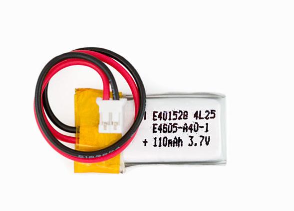 Bateria de polímero de Lítio - 100mAh