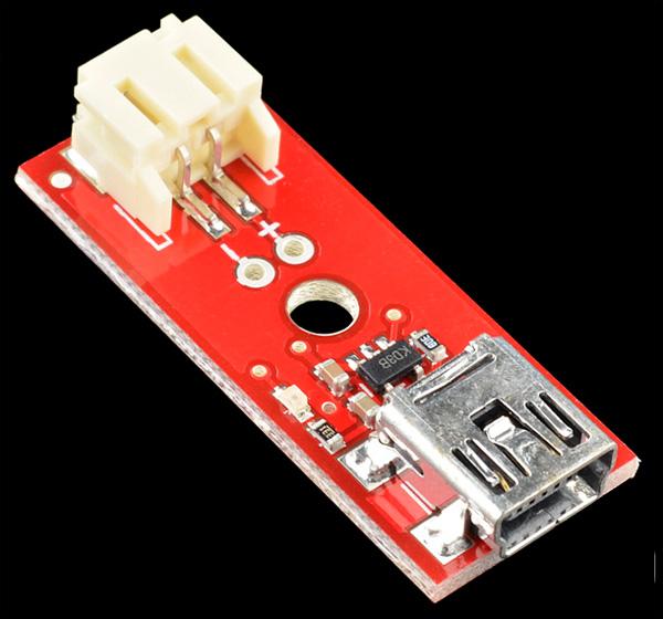 Carregador LiPo basico Mini-USB