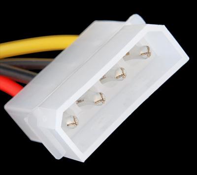 Conector Molex 4 pinos com cabos