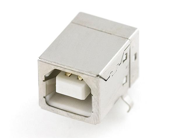 Conector USB Tipo B fêmea