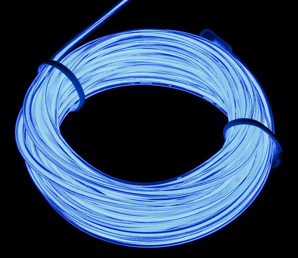 El Wire Branco - 3 metros