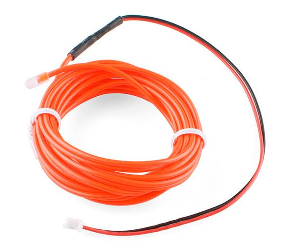 El Wire vermelho - 3 metros