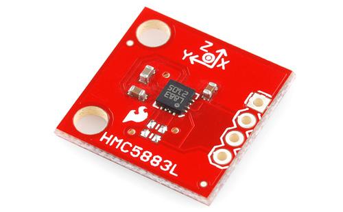 Placa com Magnetômetro Triaxial – HMC5883L