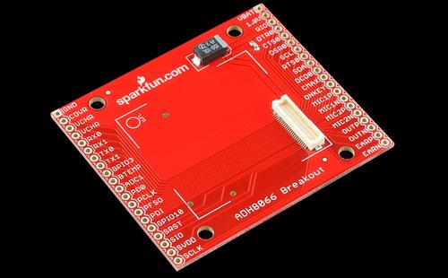 Placa com conector para ADH8066