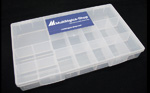 Kit Arduino Uno R3 - Iniciante - Detalhe caixa para componentes