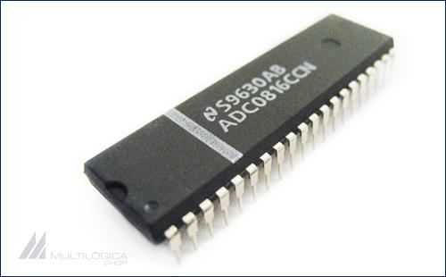 Conversor analogico para digital de 8 bits ADC0816CCN