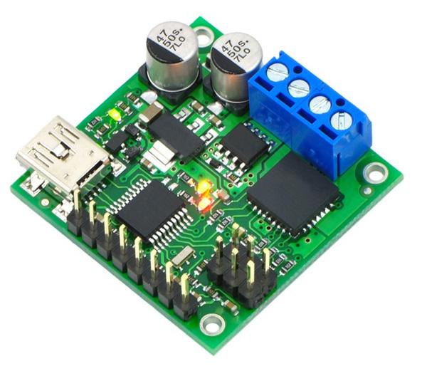 Controlador USB de motores com feedback Pololu Jrk 21v3