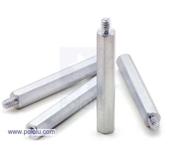 Separadores de Alumínio de 1,25pol - 4 unidades