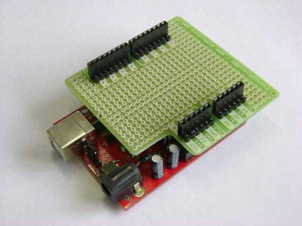 ProtoShieldBR no Arduino