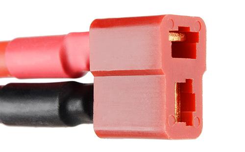 Bateria de polímero de Lítio - 1000mAh 7,4v - detalhe conector