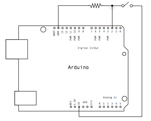 Arduino Exemplos: Botão