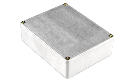 Caixa de alumínio – 120 x 95 x 35mm
