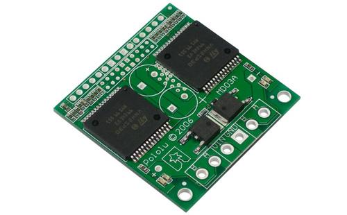 Controlador duplo para motores VNH2SP30 MD03A