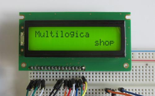 Display LCD 2x16 com conector soldado