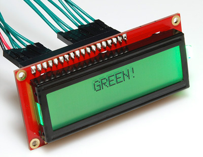 Display LCD 2x16 – fundo RGB