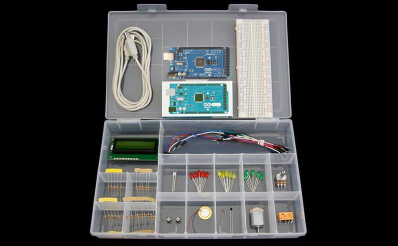 Kit Arduino Mega2560 R3 – Iniciante - Detalhe dos produtos