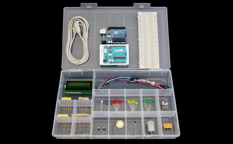 Kit Arduino Uno R3 - Iniciante - Detalhe dos produtos