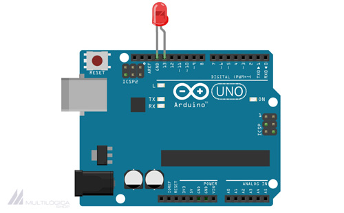 Arduino Exemplos: Piscar