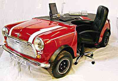Mesa para quem gosta de carros