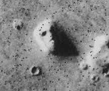 O rosto sorridente de Marte