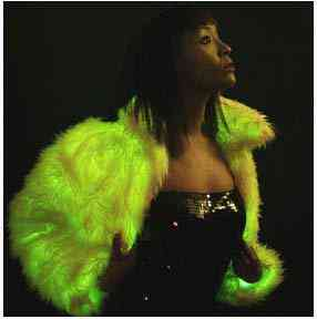 Glow fur - Muito doido isso