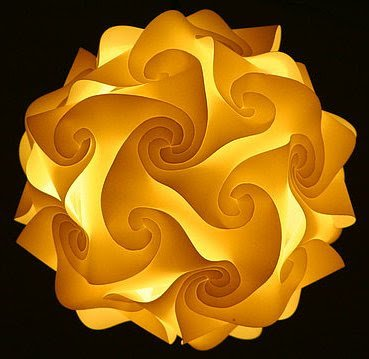 Aprenda a fazer esta sensacional luminária