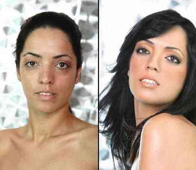A maquiagem melhora o mundo