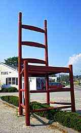 A maior cadeira do mundo